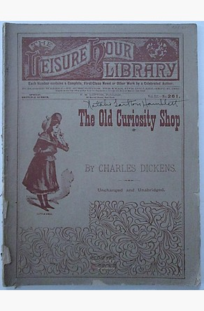 Old Curiosity Shop Charles Dickens