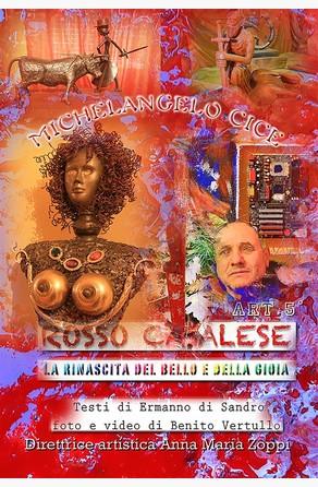 Rosso Casalese Art 5° Michelangelo Cice Ermanno Di Sandro